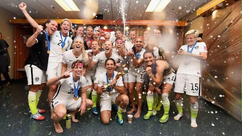 Persiapan Timnas Sepakbola Wanita AS Untuk Olimpiade Rio 2016 Bag. 21