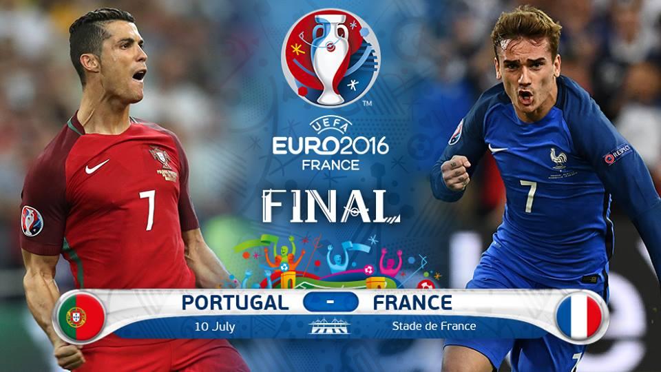 Prediksi Final Piala Eropa 2016 : Prancis Vs Portugal