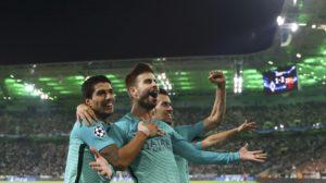 Barcelona Pemuncak Klasmen Grup C
