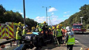 Pape Souare Mengalami Kecelakaan Mobil