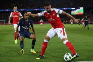 Prediksi Arsenal vs Paris Saint-Germain
