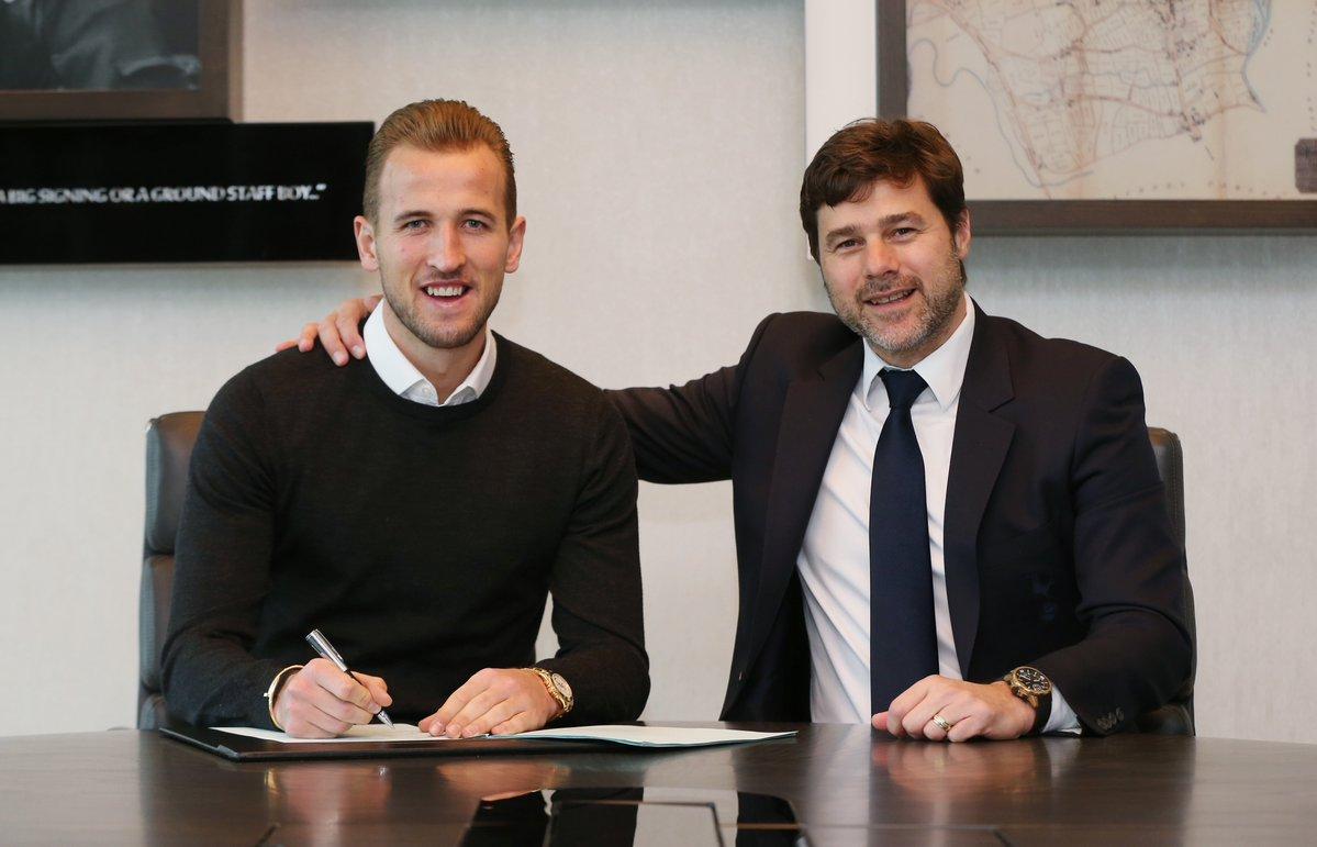 Harry Kane Resmi Perpanjang Kontrak di Tottenham