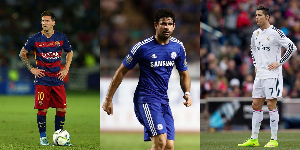Perbedaan Dasar Antara Costa Dengan Messi & Ronaldo