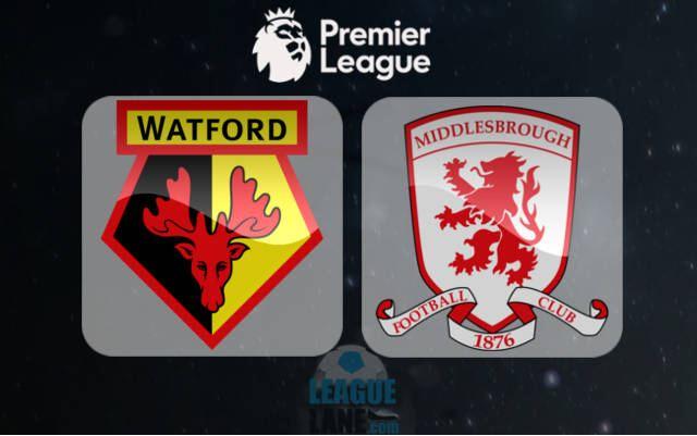 Prediksi Watford vs Middlesbrough