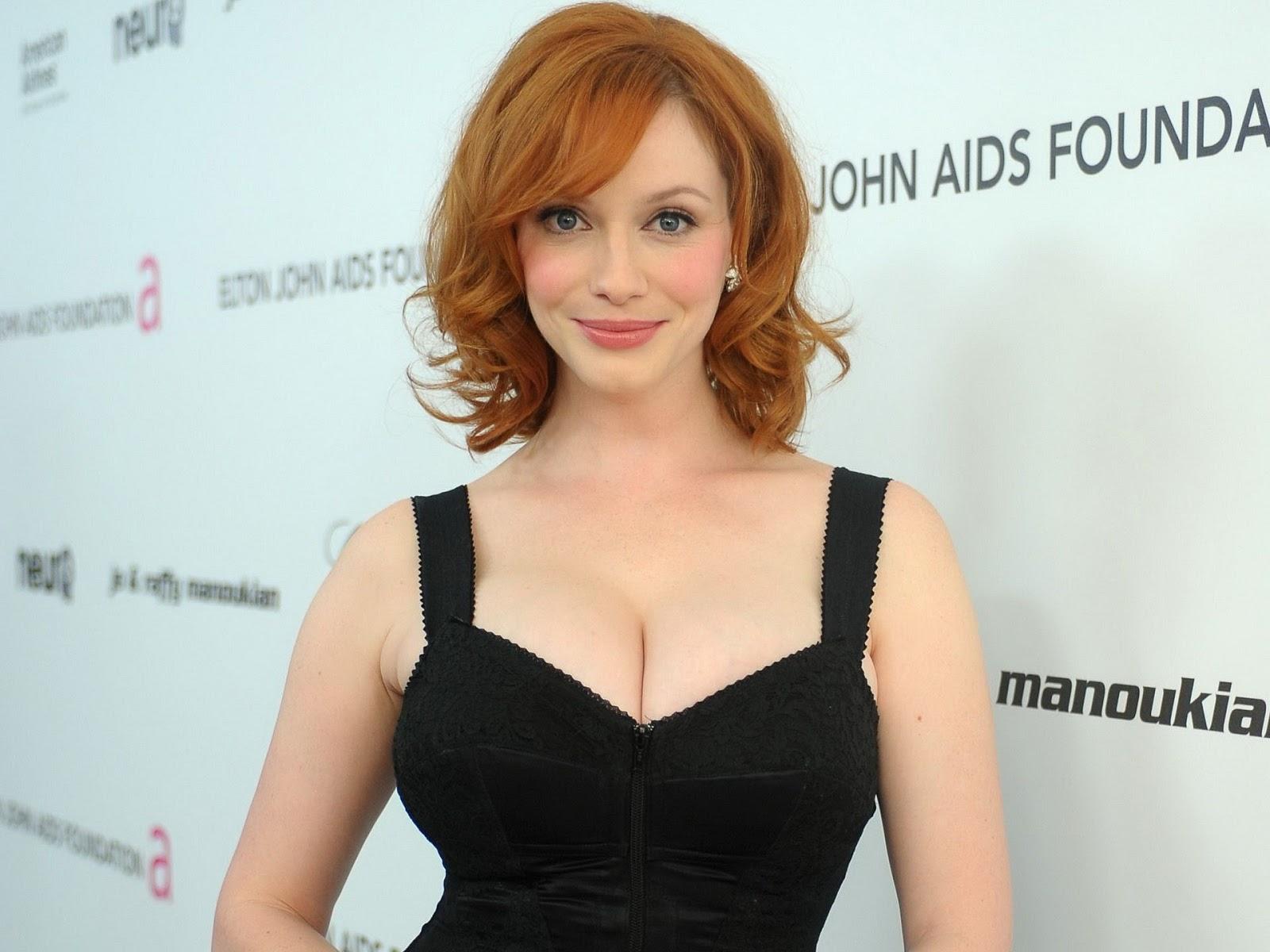Christina Hendricks, Aktris Berambut Merah Dan Lisptik Hot Seksi