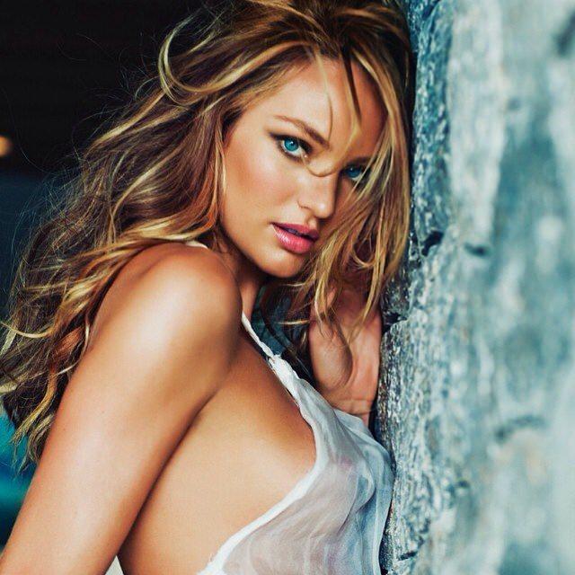 Candice Swanepoel, Model Pirang Cantik Dan Seksi