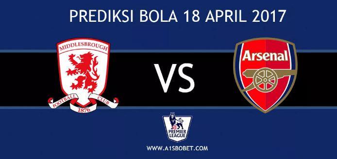 Prediksi Middlesbrough vs Arsenal
